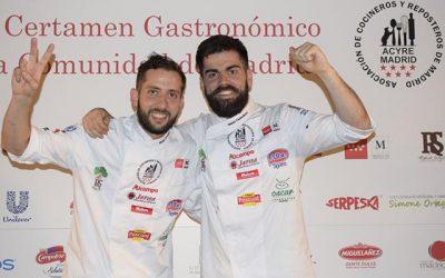 Pablo González y Óscar Castellano de Cebo mejores cocineros de Madrid