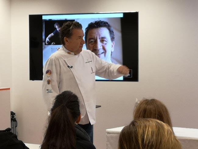 II Encuentros con el Chef en Master D: Koldo Royo