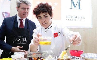 La chef Miriam Hernández nueva embajadora de los alimentos madrileños 'M Producto Certificado'