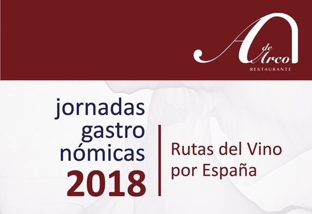 """""""Rutas del Vino por España"""" en el restaurante A de Arco"""