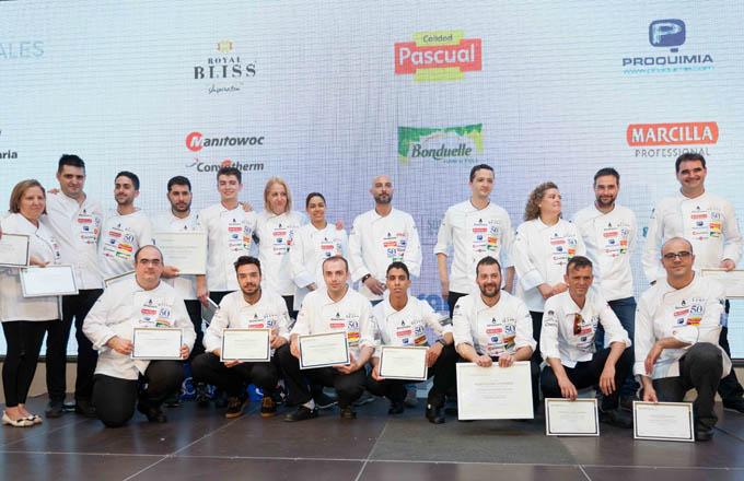 Resumen de la 2ª Semifinal del Concurso Cocinero del Año 2017
